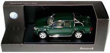 VERY RARE VW AMAROK 2H TDI 4-MOTION BERNATO GREEN 1:43 MINICHAMPS (DEALER MODEL)