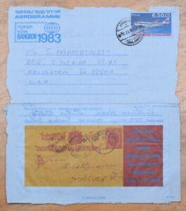 MayfairStamps Thailand 1983 Bangkok International Stamp Exhibition to Arlington
