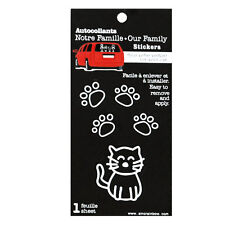 Family Car CAT Window Stickers Decals Vinyl Figure Decoration