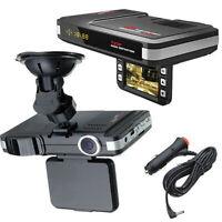 2 in1 DVR Radar Dash Cam Video Geschwindigkeitsdetektor/ GPS Auto Kamera Rekord
