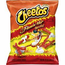 New Sealed Cheetos Flamin' Hot Crunchy Snacks, Chester Cheetah Guaranteed Fresh