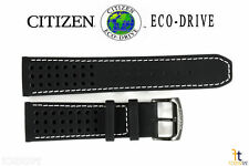 Citizen Eco-Drive CA0467-46E 23mm Black Leather Watch Band S084059