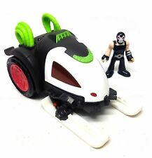 Fisher Price IMAGINEXT BATMAN BANE'S FRICTION CAR toy & action figure, no boxed