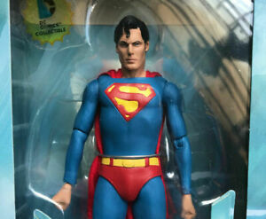"""NECA Christopher Reeve SUPERMAN 1978 DC COMICS 7"""" Scale Action Figure Collection"""