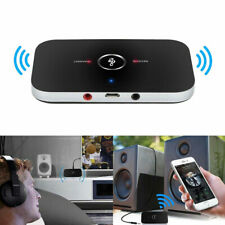 2in1 Bluetooth Transmitter Wireless Audio Receiver Music Adapter Hub 3.5mm Aux