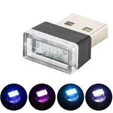 USB LED Mini Voiture Sans Fil éclairage Intérieur Atmosphère Lumière Universelle