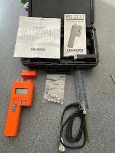 Delmhorst BD-2100 Moisture Meter with 21-E electrode