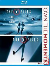 The X-Files Fight the Future & I Want to Believe ~ BRAND NEW 2-DISC BLU-RAY SET