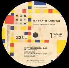 von r.j. neueste arrival - rhythm Methode (von r.j. revenge) - Manhattan