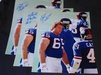 New York Giants BYU Bart Oates Signed 8x10 Photo Vintage Autograph Pic 2 JB3