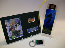 Little Mermaid Rare 3 Piece Movie Film Cell Memorabilia Collection Gift Set Lot