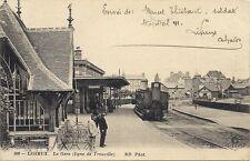 lisieux la gare (ligne de trouville)  calvados...14 ..train vapeur