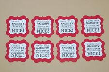 "Stampin Up Christmas Tags #1 from ""Tags Til Christmas"" Stamp Set"