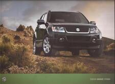 2011 11 Suzuki Grand Vitara Original Sales Brochure