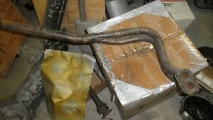 """""""NOS""""OE Fiat#4170324,35-36303 68-73 Fiat 124 1438/1608cc Spider Ft Exhaust Pipe"""