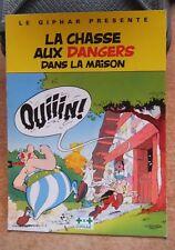 ASTERIX - GIPHAR / LA CHASSE AUX DANGERS DANS LA MAISON -1989- TTBE ! PUBLICITE