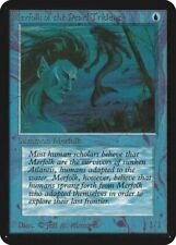 Merfolk of the Pearl Trident Alpha MINT Blue Common MAGIC MTG CARD ABUGames