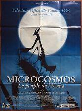Affiche MICROCOSMOS PEUBLE DE L'HERBE Claude Nurisdany MARIE PERENNOU 120x160 *D
