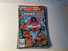 Marvel Two In One #84 February 1982 The Thing and Alpha Flight Fine