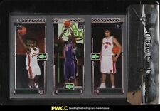 2003 Topps Matrix LeBron James Chris Bosh Milicic ROOKIE RC BGS Raw Review 9 MT