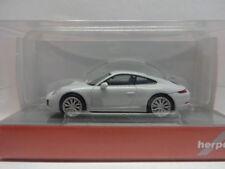 Herpa 038546 Porsche 911 Carrera 2 S Coupe carraraweiß metallic weiß 1:87 Neu