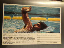 New listing Mark Spitz Swimming Trading Card Olympic 1972 Munich not glued