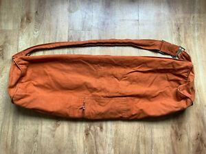 Cotton Yoga Mat Bag, Orange