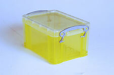 0.3 Litre Really Useful Box T.Yellow