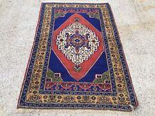£950 Turkish Vintage Prayer Rug vegetable dye175x110cm Persian Afghan Tribal