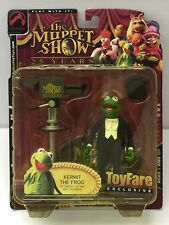 The Muppet Show 25 Year Kermit The Frog Action Figure Brand New 2002