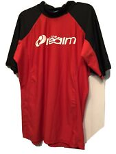 "Men's ""THE REALM"" Streamline Swimmer & Surfer Shirt! RARELY WORN! Excellent! 2XL"