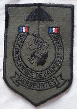 Insigne Patch Parachutiste STAT AÉROPORTÉS SNOOPY SECTION TECHNIQUE ARMEE TERRE