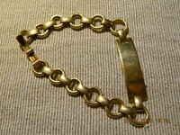 @@@Wunderschönes Golddouble Armband mit Punze@@@