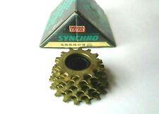 *NOS Vintage 1980s REGINA EXTRA ORO 13-18 cogs 6 Speed ISO freewheel cassette*