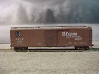 Athearn HO Scale 50 Foot Single Door Box Car El Capitan Santa Fe 11043