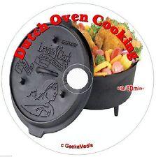 10,000 Dutch Oven Recipes 25 Cookbook CD cast iron pot camping campfire cooking