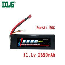 Genuine DLG RC Battery 11.1V 3S 25C 2650mAh Burst 50C Li-Po LiPo Dean's T plug