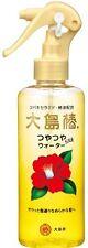 Nuevo Oshima Aceite de cabello tsubaki agua 180ml Camelia Ceramide hecho en Japón F/S