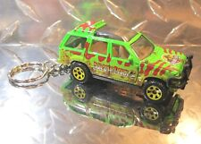 2018 Matchbox Jurassic Park World Ford Explorer JP Custom Key Chain!