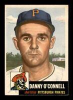 1953 Topps Set Break # 107 Danny O'Connell NM *OBGcards*