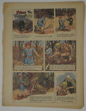 PRINCE VALIANT Full Color SUNDAY PAGE King Features Hal Foster 10/29/1967, #1603