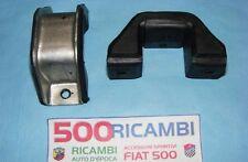 FIAT 500 F/L/R 126 COPPIA SUPPORTI ELASTICO INFERIORE BALESTRA SOSPENSIONI ANTER