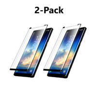 2-pack for Samsung Galaxy S9 S8 S9 Plus Screen Protector Tempered Glass Note 8 9