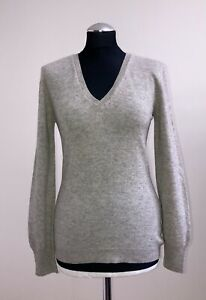 YESSICA WOMEN'S CASHMERE 100% JUMPER PULLOVER SIZE S