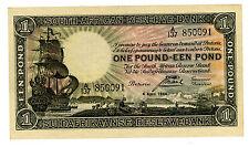 South Africa … P-84e … 1 Pound … 4-Apr-1944 … *XF*