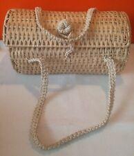 Zara Boho Wicker Weave Basket Bag Box