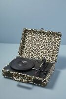 CROSLEY VINYL RECORD PLAYER CRUISER DELUXE + BLUETOOTH LEOPARD TURNTABLE FAULTY