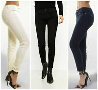 ZARA Skinny Jeans in Navy Cream or Black   SALE   Was £30