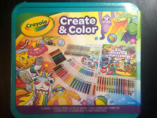 Crayola Epic Create & Color Art Case 75 Pieces Boys and Girls Ages 5+ Child FUN