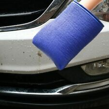 1X Car Cleaning Towel Auto Care Wash Magic Clay Bar Mitt Cloth Microfiber Sponge